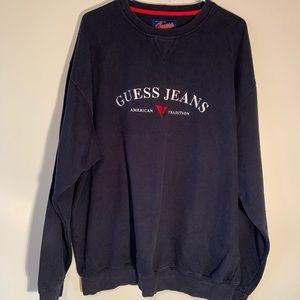 Vintage Guess Heavy Blue Sweatshirt